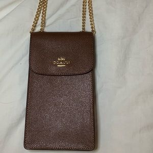BRAND NEW Coach North South Phone Crossbody Lace